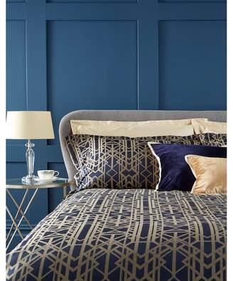 Christy Navy 'Gatsby' Oxford Pillowcase Pair