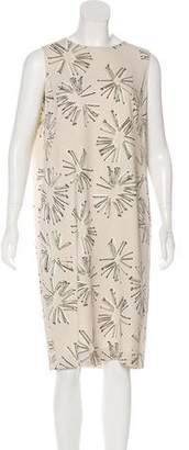 Akris Punto Printed Sleeveless Dress