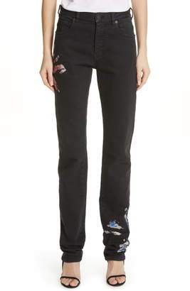 Calvin Klein Tie Dye Straight Leg Jeans