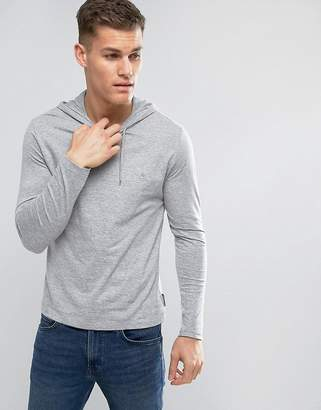 French Connection Hooded Long Sleeve Top