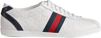 Guccissima leather lace-up sneaker $495 thestylecure.com