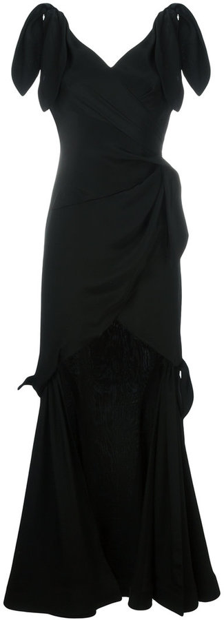 MoschinoMoschino tie detailed gown
