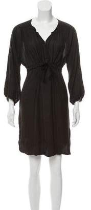Isabel Marant Ruched-Accented Knee-Length Dress