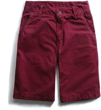 Trunks GARQEN New Casual Shorts Men Summer Breathable Shorts Stretch Straight Solid Shorts