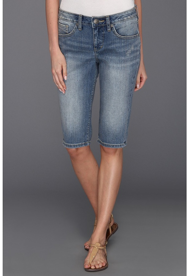 Jag Jeans Robbie Skinny Bermuda in Classic Vintage Women's Shorts