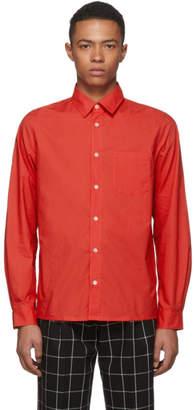 A.P.C. Red Poplin Shirt