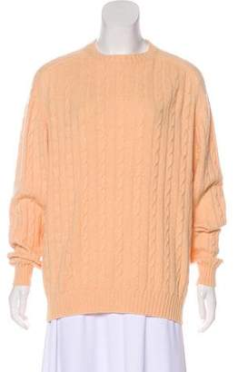Agnona Cable Knit Sweater