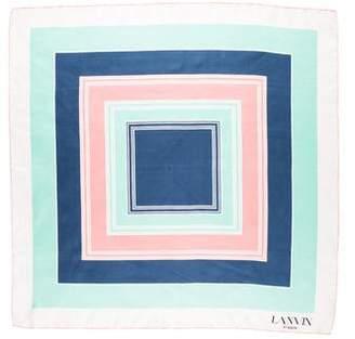 Lanvin Printed Square Scarf