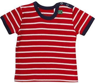 Green Cotton Fred's World by Baby Stripe s/Sl T Baby T-Shirt