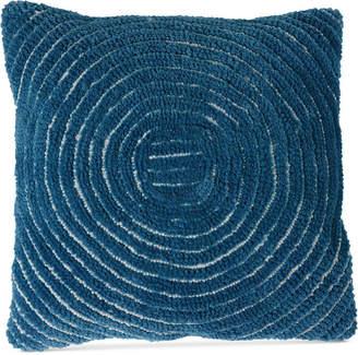 "Trademark Global Modern Geometric Circle 18"" Decorative Throw Pillow"