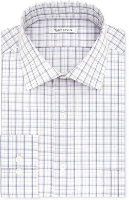 Van Heusen Men's Tek Fit Flex Collar Regular/Classic Fit Big & Tall Check Dress Shirt $55 thestylecure.com