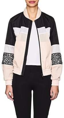 Sapopa Women's Mrs. Nice Lace-Overlay Bomber Jacket