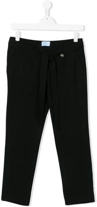 Lanvin Enfant TEEN tied waist trousers