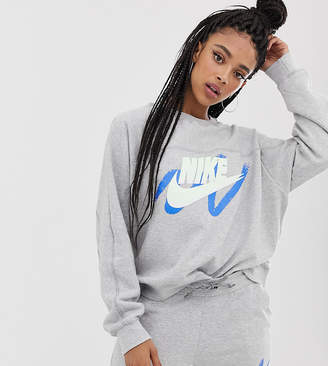competitive price c9ee3 4ca2d Nike Archive Exclusive To Asos Grey Scribble Logo Sweatshirt