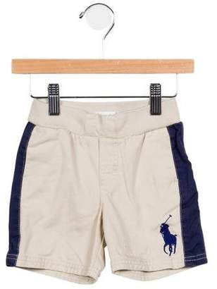 Ralph Lauren Boys' Woven Embroidered Pants