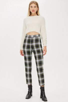 Topshop **Bert Tartan Check Peg Trousers by Nobody's Child