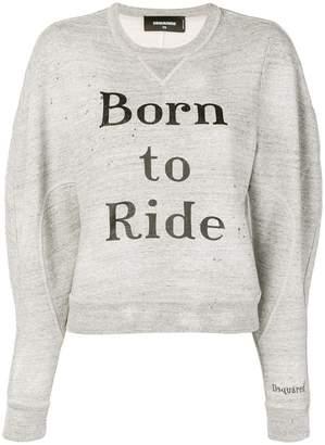 DSQUARED2 Born to Ride sweatshirt