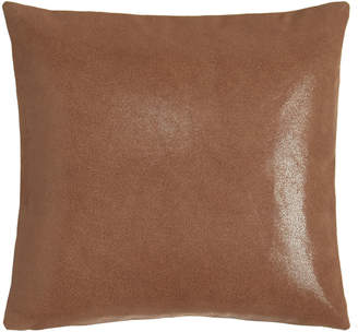 "Donna Karan Home Awakening Leather Pillow, 16""Sq."