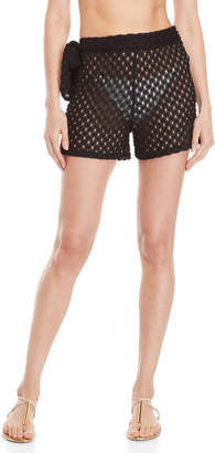 Jordan Taylor Elif For Crochet Tie Cover-Up Shorts