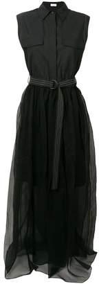 Brunello Cucinelli maxi shirt dress
