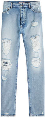 Palm Angels Distressed Jeans
