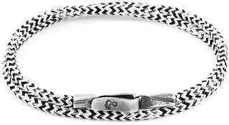 Liverpool Silver & Rope Bracelet