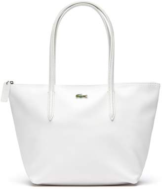 At Lacoste Women S L 12 Concept Small Zip Tote Bag