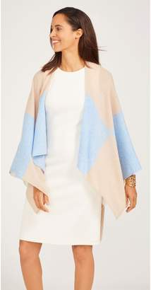 J.Mclaughlin Skyler Cashmere Wrap in Color block