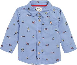 Hatley Print Button Shirt