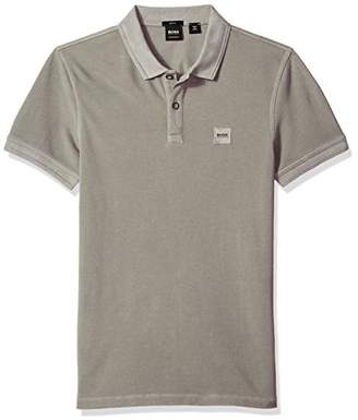 HUGO BOSS Men's Prime Polo Shirt with Chest Logo Patch
