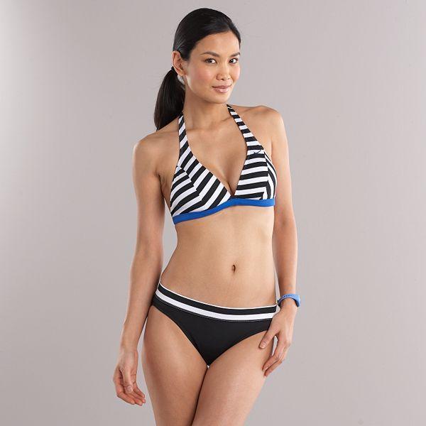 Nike striped swim separates