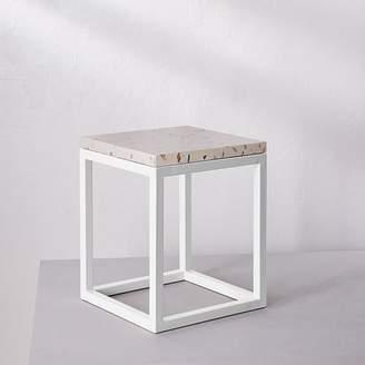 west elm Side Table - Cobble Beige Surface