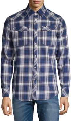 G Star Raw Plaid Button-Down Shirt