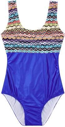 Missoni Two Tone Swimsuit