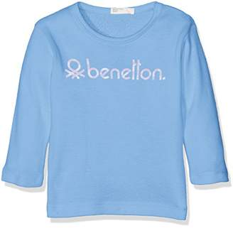 Benetton Baby Girls 0-24m L/S Long Sleeve T-Shirt,(Size:)