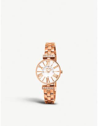 Folli Follie Dynasty rose gold-plated watch