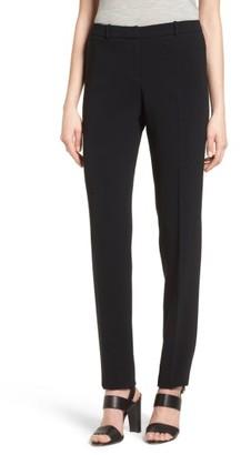 Women's Boss Tilunana Straight Leg Trousers $255 thestylecure.com
