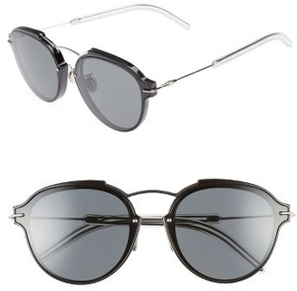 Women's Dior Eclats 60Mm Sunglasses - Black Palladium $640 thestylecure.com