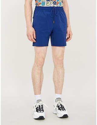 Leon AIME DORE Patch-pocket shell shorts