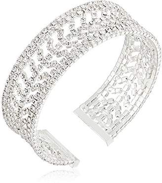 Anne Klein with Crystal Pave Cuff Bracelet