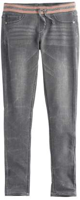So Girls 7-16 & Plus Size SO Ribbed Waist Jeggings