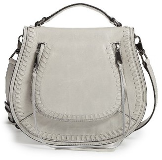 Rebecca Minkoff Vanity Saddle Bag - Beige $325 thestylecure.com