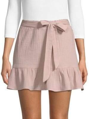 Supply & Demand Patrick High-Rise Cotton Mini Skirt