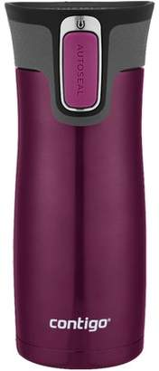 Contigo AUTOSEAL West Loop Vacuum-Insulated Stainless Steel Travel Mug with Easy-Clean Lid, 16 oz., Matte Radiant Orchid