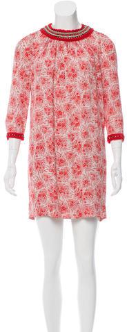 3.1 Phillip Lim3.1 Phillip Lim Abstract Print Mini Dress