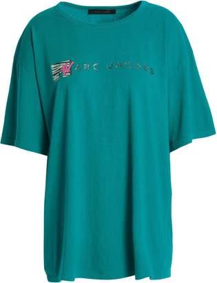 Marc Jacobs (マーク ジェイコブス) - マーク ジェイコブス オーバーサイズ 装飾付き コットンジャージー Tシャツ