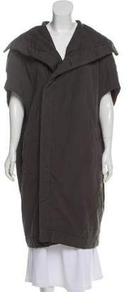 Rick Owens Sleeveless Cocoon Coat