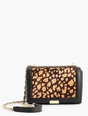 Talbots Haircalf Medium Shoulder Bag with Chain Strap