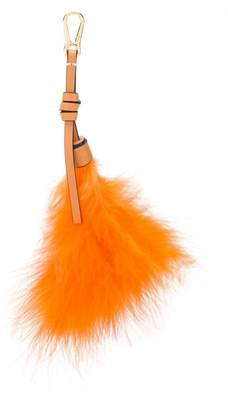 Loewe feather bag charm