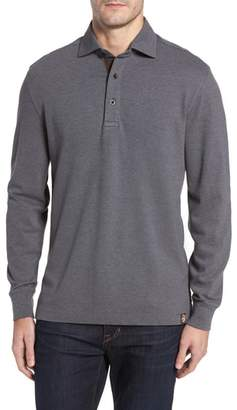 Thaddeus Perry Long Sleeve Polo